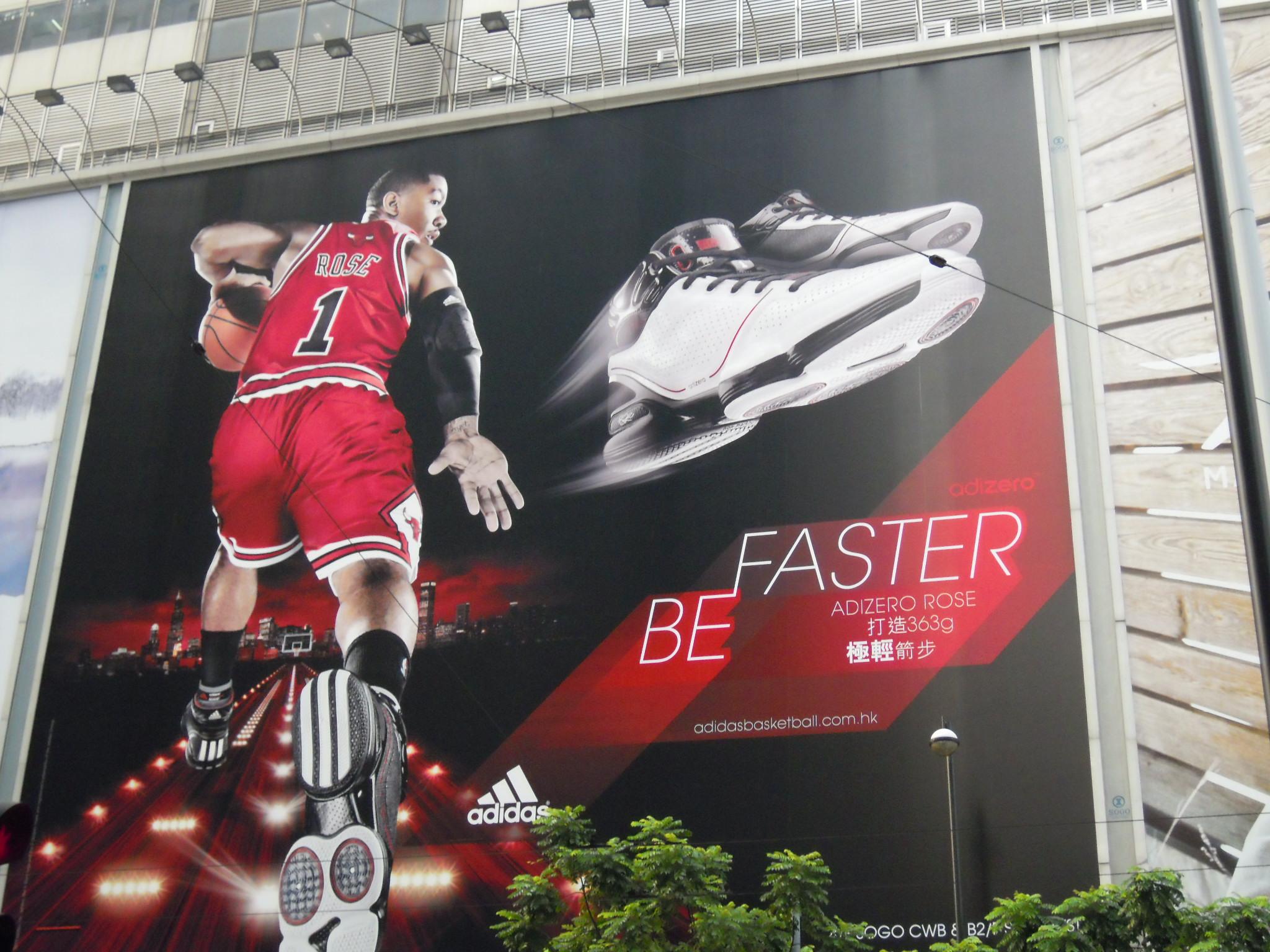 Adidas Vs Nike Billboards Breathing Asia Living Singapore